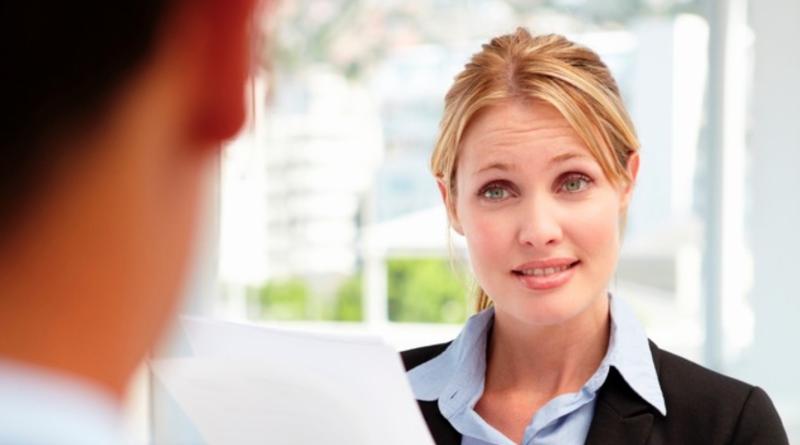 errores en entrevista de trabajo