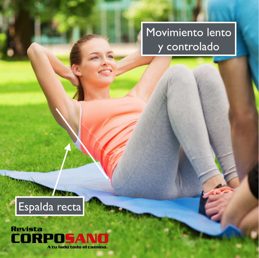 4 ejercicios para un abdomen fuerte y plano