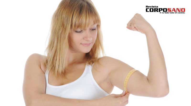 Elimina la flacidez del brazo