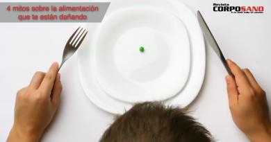4 mitos de la alimentación