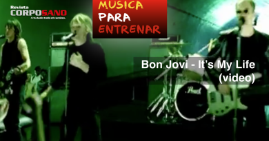 Música para entrenar: Bon Jovi - It's My Life (video)