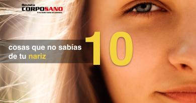10 cosas que no sabías de tu nariz
