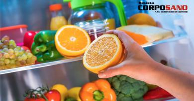 Un vistazo al refrigerador de las personas delgadas