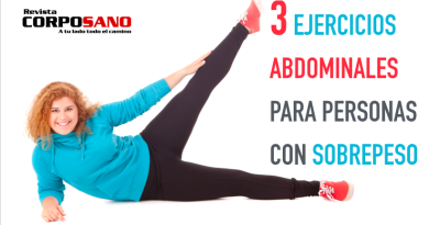 3 ejercicios abdominales para personas con sobrepeso