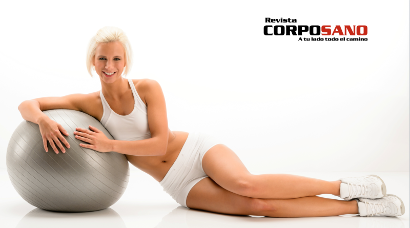 Consigue un vientre plano utilizando la stability ball