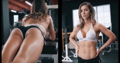 Bellezas entrenando, ¡la fuerza femenina!