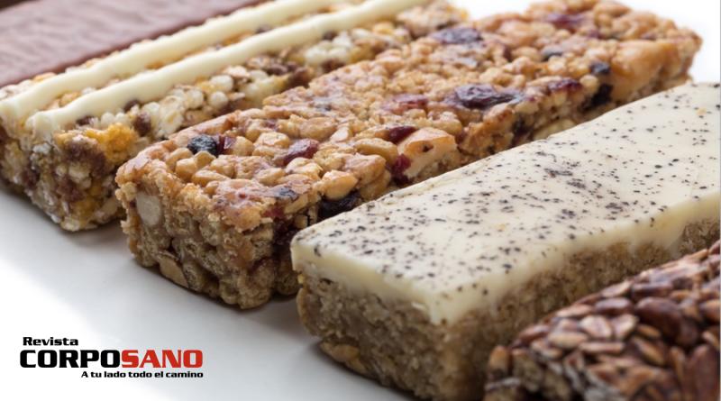 ¿Son saludables las barras de proteínas?