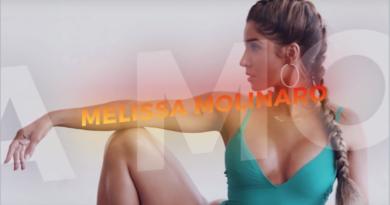 Increíble entrenamiento de Melissa Molinaro
