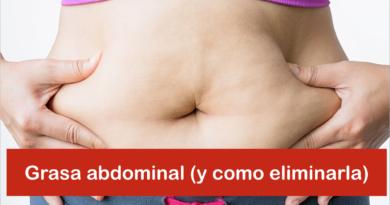 Grasa abdominal y cómo eliminarla