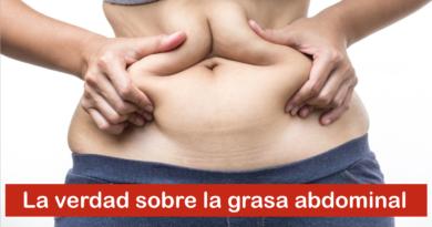 La verdad sobre la grasa abdominal