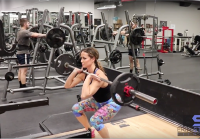 Rutina de cardio y pesas con Erin Stern
