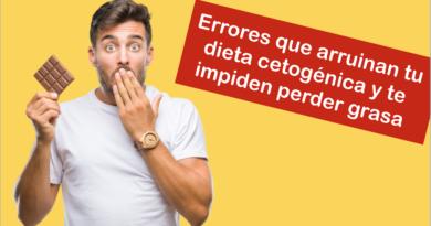 Errores que arruinan tu dieta cetogénica y te impiden perder grasa