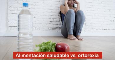 Alimentación saludable vs. ortorexia