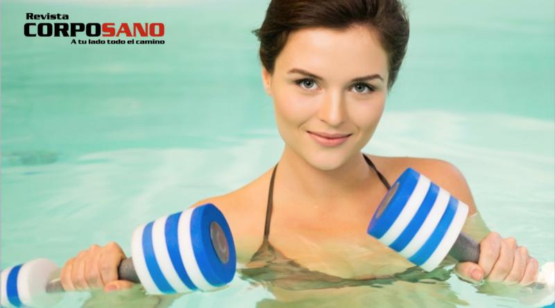 Marca tus músculos y quema grasa bajo el agua